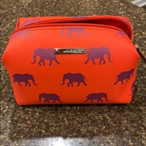 Brand New Stella & Dot Cosmetic Bag with Elephants